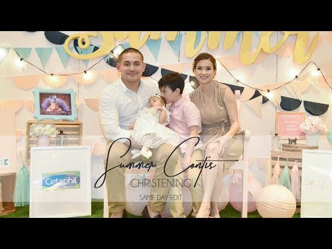 Summer Contis' Christening | Same Day Edit by Nice Print Photography