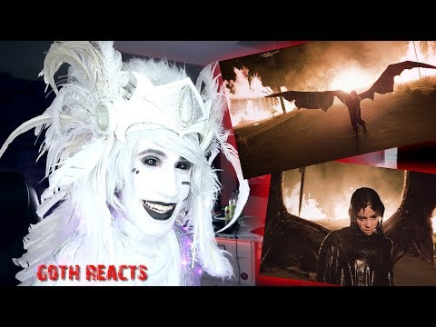 Goth Reacts to Billie Eilish - all the good girls go to hell (music video)