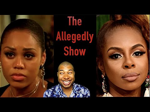 The Allegedly Show: Candiace vs Monique, Omarion's 350$ Child Support & Celebrity Gossip