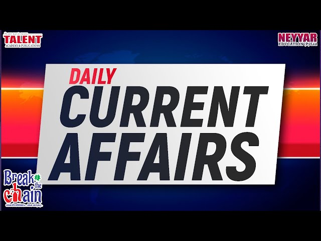 Daily current Affairs 03 April