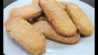 Biscoitos champanhe/apenas 4 ingredientes mais fácil do mundo uma delícia
