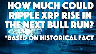 How Much Could Ripple XRP Rise In The Next Bull Run? - Based On Historical Fact