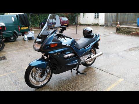 Honda ST1100 Pan European Quick Ride & Review