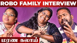 """How I React When My Mom & Dad Fight"" - Robo Shankar Daughter Indraja & Wife Priyanka Interview"