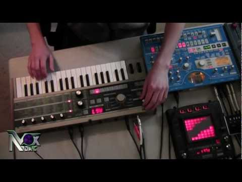 Skrillex - Scary Monsters and Nice Sprites LIVE Synth Cover (Vox Atomic)