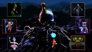 Fazbear World ENNARD DX - All Bosses / Boss Fights