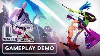 No Straight Roads Gameplay Demo - IGN LIVE | E3 2019