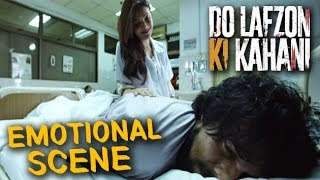 Kajal Aggarwal Came To Meet Randeep Hooda in Hospital   Do Lafzon Ki Kahani   Emotional Scene   HD