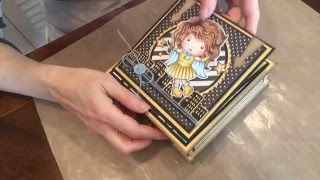 La-La Land Crafts TV - TUTORIAL Pull-out Drawer Box with Easel Card