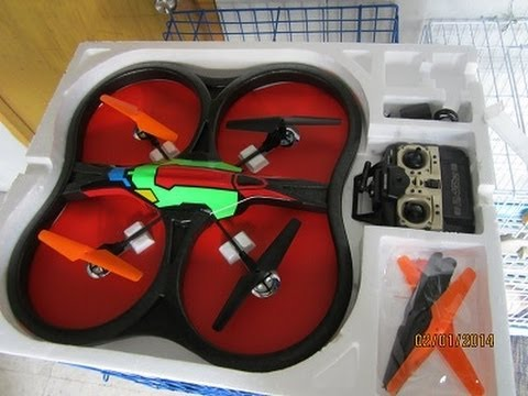 UFO Intruder quadcopter outdoor test flight on February 2, 2014.