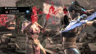 MKX Kitana Splitting Hairs Fatality
