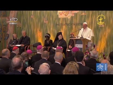 Pape en Suisse : Rencontre oecuménique