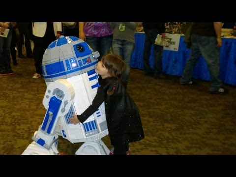 Full-Size Lego R2-D2 Is Fully Functional And Fully Amazing