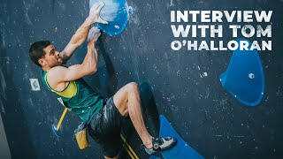 2020 IFSC Oceania Championships || Interview with Tom O'Halloran by International Federation of Sport Climbing