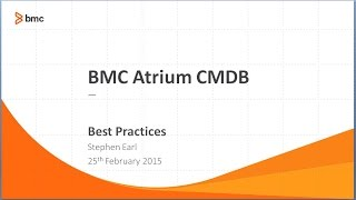 Connect with Remedy   CMDB Best Practices   Get Set Get Ready Go Webinar 2015 02 25