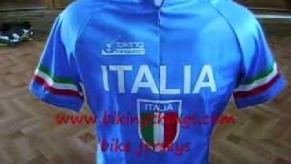 italia bike jersey, italian flag italy soccer cycling jersey blu