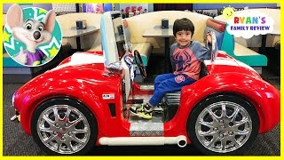 Chuck E Cheese Family Fun Indoor Kids Play Area with Ryan