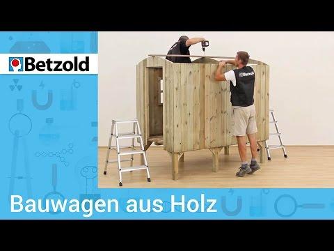 Bauwagen aus Holz – Ideal für Kinder   Betzold