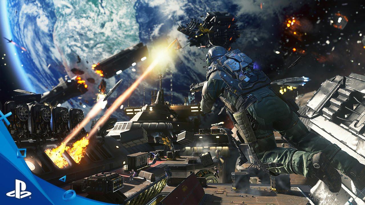 Call of Duty: Infinite Warfare Ship Assault estreno del gameplay de E3