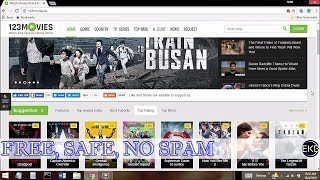 Simple & Easy | How To Watch Spam-FREE Movies Online | 123MOVIES