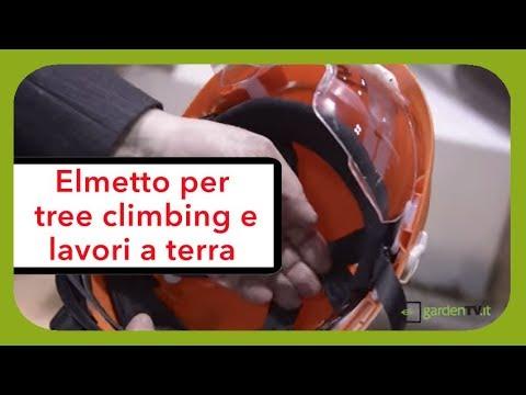 Nuovo casco per uso forestale, certificato per lavori sia a terra sia in quota