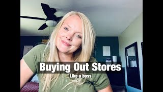 How I Bought Out 3 Stores Of Clothing Racks!