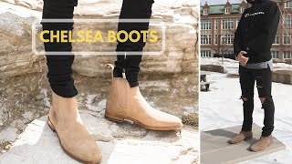 HOW TO STYLE CHELSEA BOOTS | BTan