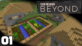 FTB Beyond - Ep. 1: In Search of a Home | Minecraft Modded Survival Let's Play