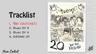 Gambar cover [Full Mini Album] Nam Taehyun 남태현 (South Club) – 20