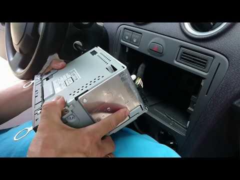 Ford Radio 6000CD Ausbauen Einbauen + Bluetooth Empfänger Watermark WM-BT09 nachrüsten