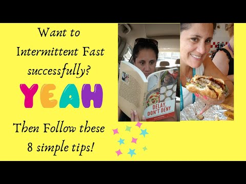 Intermittent Fasting is so effective...when done right! Follow these simple steps!