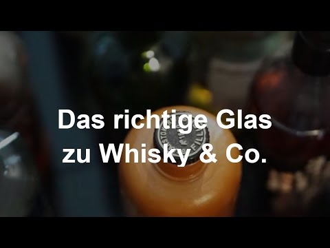 Das richtige Glas zu Whisky & Co - Info-Video