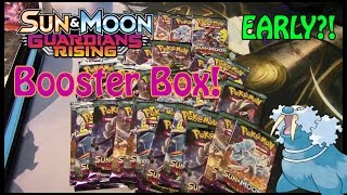 EARLY GUARDIANS RISING BOOSTER BOX!! by Master Jigglypuff and Friends