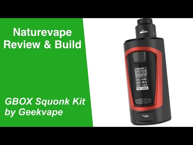 Geekvape Gbox - Review and Build - Watch before you buy