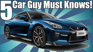 5 Things Car Guys MUST Know!