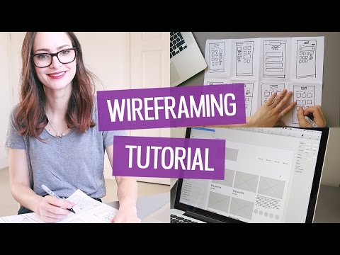 How to wireframe a website   CharliMarieTV