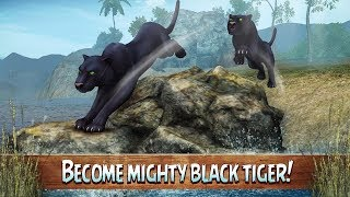 🐅Black Tiger Simulator 3D-Симулятор черного тигра-By Wild Animals Clan-Android