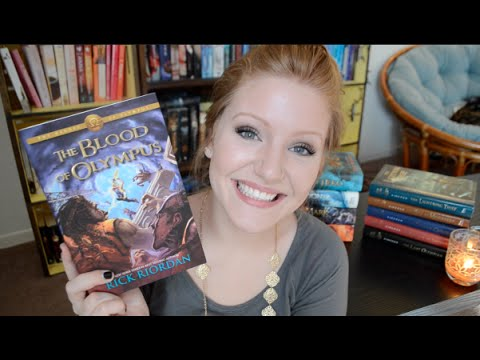 THE BLOOD OF OLYMPUS by Rick Riordan | Book Discussion