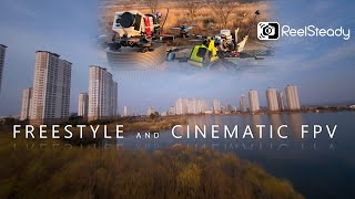 Cinematic and Freestyle - FPV Drone (GOPRO 6, Reelsteady Go, YI 4K, Emuflight)
