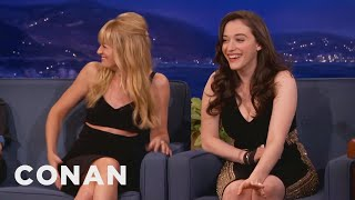 Beth Behrs Accidentally Grabbed Kat Dennings' Boob