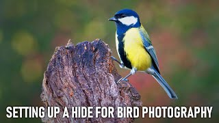 Setting up a hide for Bird Photography - Ep.1: Location scouting   Buteo Photo Gear Aquila Mark II