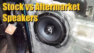 Stock vs Aftermarket Speakers | AnthonyJ350