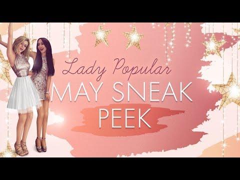 May Sneak Peek - Lady Popular