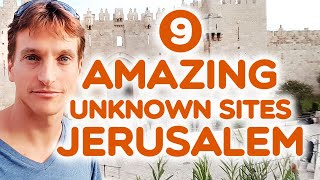 Hidden Gems In Jerusalem - 9 AMAZING UNKNOWN SITES In The OLD CITY