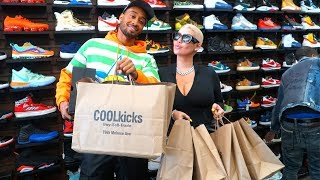 Amber Rose Goes Shopping For Sneakers With CoolKicks