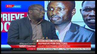 Reprieve for doctors with Dr. Chitayi Murabula 26/1/2017