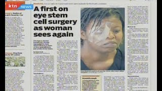 Woman regains sight after historic surgery : Press Review