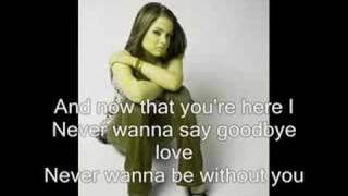 jojo never say good bye with lyrics