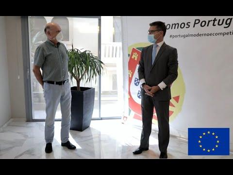 Soutien de l'UE au Secteur privé au Sénégal : regards croisés entre S.E. Vitor Sereno et José Mendes