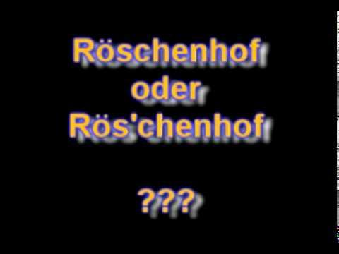 Röschenhof // Die Beschwerde